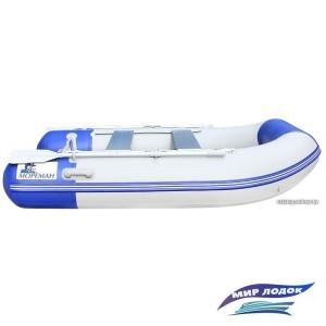 Моторно-гребная лодка Мореман 260 (надувной пайол)