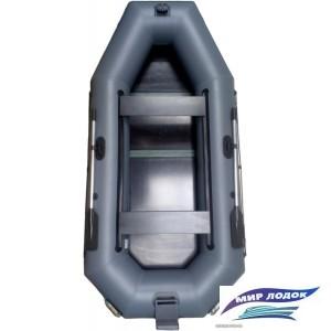 Моторно-гребная лодка Vivax К280Т (пол-книга, серый)