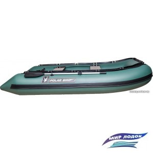 Моторно-гребная лодка Снегирь Polar Bird Merlin 340M (зеленый)