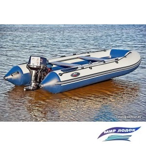 Моторно-гребная лодка Групер 360
