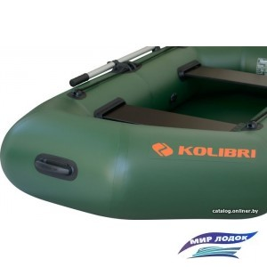 Моторно-гребная лодка Kolibri K-240Т (слань-коврик)
