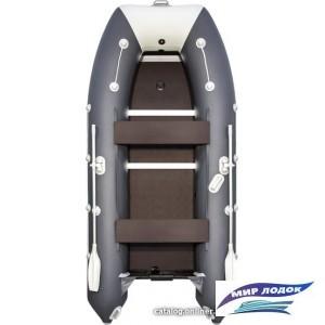 Моторно-гребная лодка Таймень 3600 СК (графит/светло-серый)