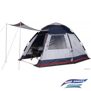 Кемпинговая палатка FHM Alioth 4 (серый/синий)