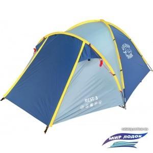 Треккинговая палатка GOLDEN SHARK Rest 3