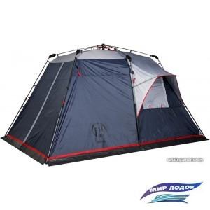 Кемпинговая палатка FHM Polaris 4 (серый/синий)