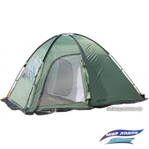 Кемпинговая палатка Talberg Bigless 4 Green 2018