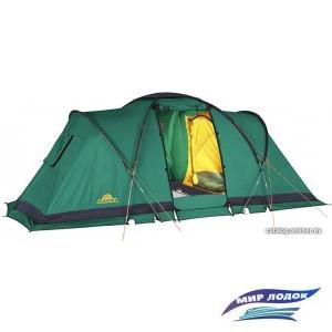 Кемпинговая палатка AlexikA Indiana 4 (зеленый)